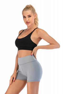 Breathable Shorts Running Gym Sports Yoga Shorts Fitness Workout Activewear_16