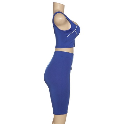 Two piece Women Yoga Sets Quick Dry Sports Suit Fitness Bra Elastic Gym Shorts_7