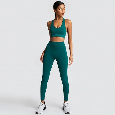 Fashion High Waist Leggings Women Fitness Set | Overall Full Tights Running Yoga Suits_8