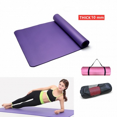 Thick Yoga Mats Beginner Yoga Sports Exercises Outdoor Gym Home Fitness Mats Kids Dance Mats With Carring Bags