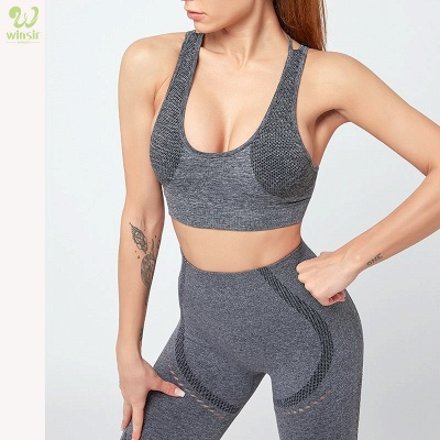 Two Piece Sport Suit Women Yoga Set Gym High Waist Tight Elastic Vest Shorts
