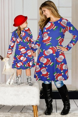 Chic Long Sleeve Christmas Dress SD1018_15