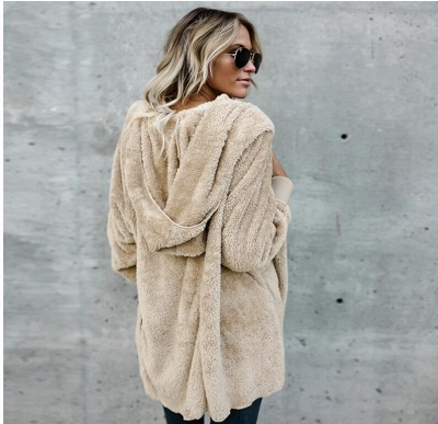 Fashion Solid Color Long Sleeve Outerwear_12