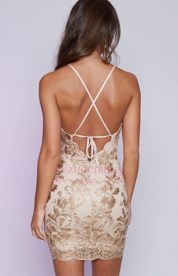 Sleeveless Backless Sexy Cocktail Dress Cheap Lace Appliques Mini Homecoming Dress 2020 BA6717_3