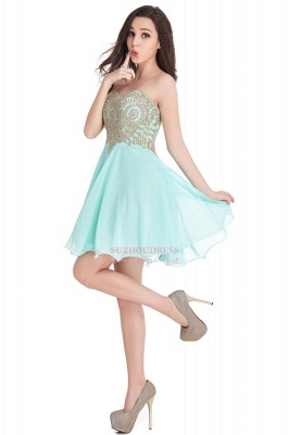 2020 Sweetheart Cheap Mini Short Appliques Homecoming Dresses_8