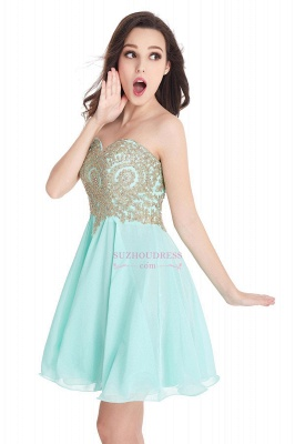 2020 Sweetheart Cheap Mini Short Appliques Homecoming Dresses_11