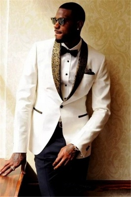 Custom Made Men Wedding Suits Bridegroom Mens Suits | 2020 Formal Jacquard Best Men Tuxedos_1